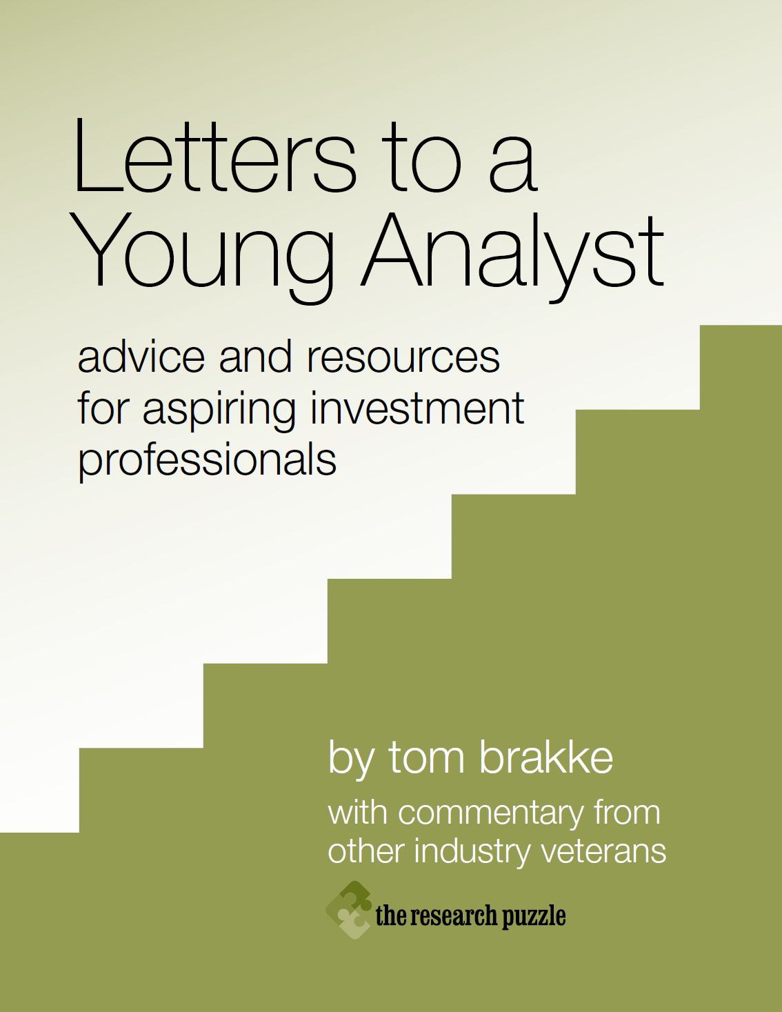 Letters to a Young Analyst