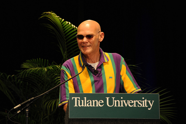 "Photo Credit: Tulane Public Relations || James Carville wants to be ""reincarnated"" as the bond market, to scare everyone -- boo!"